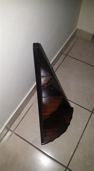 Inbuia Corner Shelf.