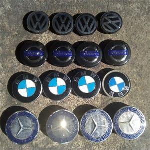 wheel, rims and bonnet caps/badges