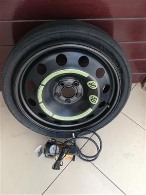 GLC 18 inch Collapsible Spare Wheel with Pump R6500