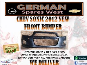 CHEV SONIC 2012 NEW FRONT BUMPER FOR SALE