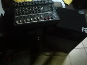 dixon mixer Amp and
