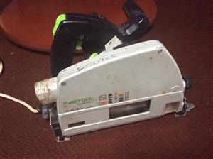 Festool AT 65 EB1 Plunge saw with 800mm track.