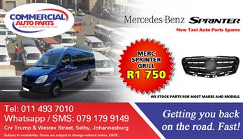 Grill For Mercedes Benz Sprinter For Sale.