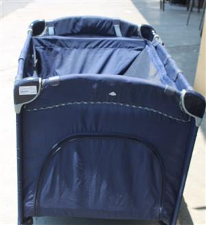 Pigaloo travel light blue baby cot S031804a #Rosettenvillepawnshop