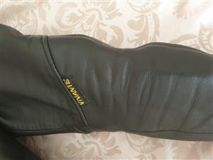 Ladies Vivante Leather motorbike jacket Size 36