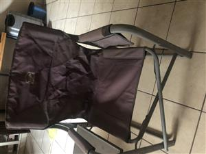 CAMP MASTER CAMPING CHAIRS