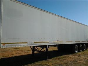 Box Body trailer 3 Axle