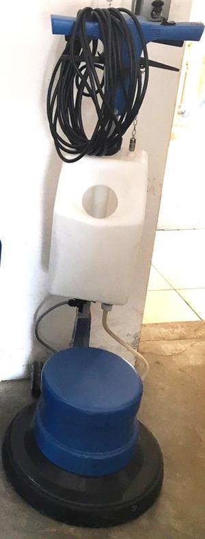 Semca Floor Scrubber with brand new cleaning pads