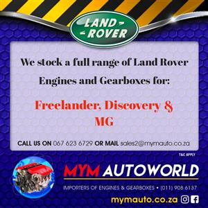 Used Second hand LAND ROVER DISCOVERY TD 5, 10P Engine