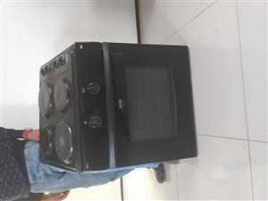 Four plate stove