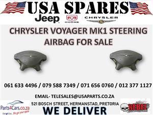 CHRYSLER VOYAGER MK1 STEERING AIRBAG FOR SALE