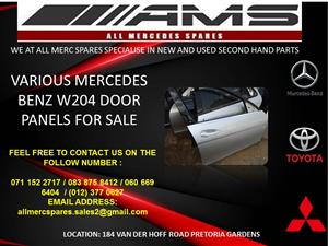 VARIOUS MERCEDES BENZ W204 DOOR PANELS FOR SALE