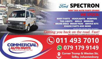Ford Spectron Parts and Spares For Sale/