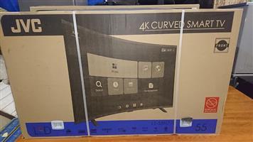 JVC Curved smart tv for sale