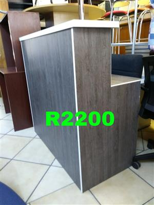 Custom made Reception desks in stock/desks/cabinets/chairs