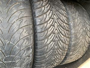 3 x 275/45/20 Federal Tyres