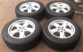 OEM BMW X5 18 Inch rims and tyres