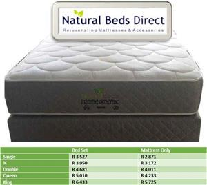QUEEN SIZE EXECUTIVE ORTHOPAEDIC MATTRESSES & BASE SETS