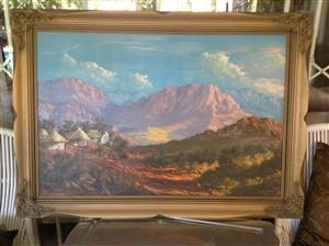 Vj.l crosser painting large beautiful