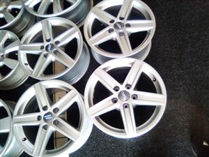 """16"""" brand new x4 Audi mags for only R3000.00."""