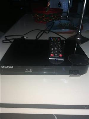 Samsung blu ray player with remote