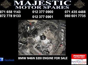 Majestic motor spares Bmw N46N engine for sale