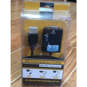 HDMI to VGA Conversion Cable