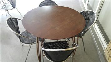 Canteen table & chairs