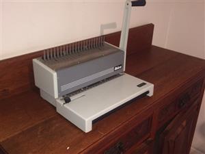 Ibimatic combo binder machine