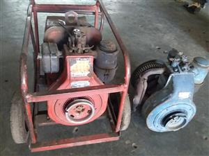 Lincoln Diesel Welder With Spare Engine