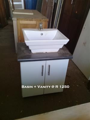 Used Basin & Vanity