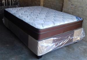 Restonic Rest Well Double Mattress and Base Set
