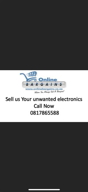 Sell your unwanted electronics to us