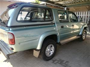 2000 Toyota Hilux 2.7 double cab Raider