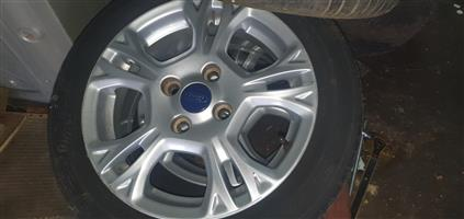 Ford fiesta mag set for sale