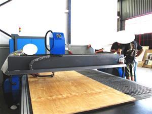 R-2040LK/45 EasyRoute 380V Lite 2050x4000mm PVC Clampable Vacuum CNC Router, 4.5kW High