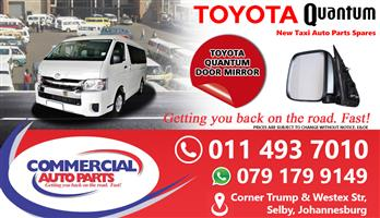 Door Mirrors For Toyota Quantum Sesfikile For Sale.