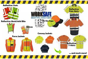 Hi-Viz, Barrier Netting and Tape, First Aid Kits, Traffic Cones; etc.