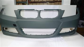 BMW SPORTS BUMPER FRONT E90 FACELIFT WITH OUT ANY HOLES