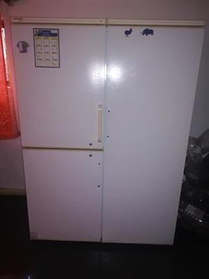 3 door fridge / freezer..