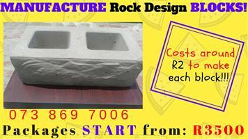 Rock Art Block Making BUSINESS FOR SALE