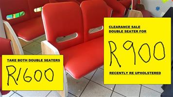 RED DOUBLE SEATERS FOR SALE