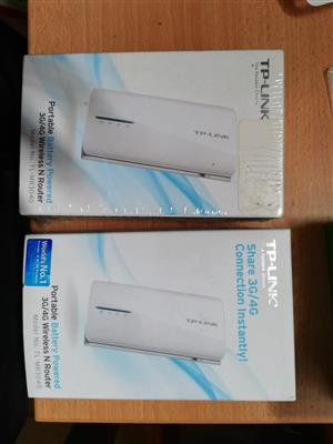 Tp link portable lte 3g 4g Router  battery powered model no TL MR 3040
