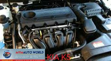 Imported used KIA CARNIVAL 2.5L DOHC HBS, K5 HBS engine Complete