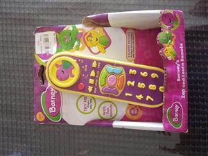 Barney play remote