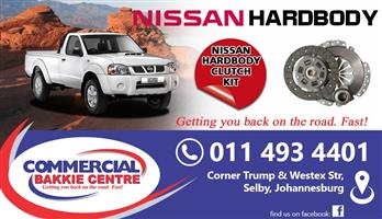nissan hardbody petrol clutch kit