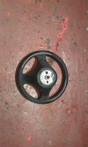 2005 FIAT PUNTO STEERING WHEEL - USED GLOBAL