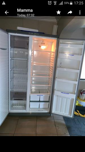 Defy f640 side by side fridge