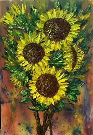 Original oil painting by CHRISTOPHER