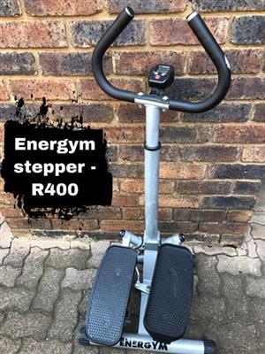 Energym stepper for sale